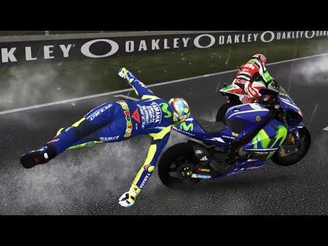 MotoGP 17 - Crash Compilation #2 (PC HD) [1080p60FPS]