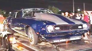 Car FLIPS While Street Racing