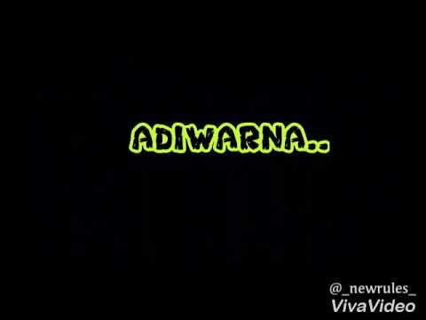 Lirik lagu adiwarna -jihan muse