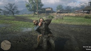 Red Dead Redemption 2 - Brutal Fist Fights Compilations Vol.8 | Euphoria Ragdoll Physics