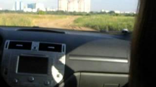 Ford Kuga 4x4 Скоростной тест-драйв на грунте.