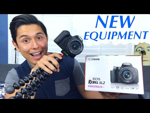 [ASMR] NEW EQUIPMENT! (Unboxing. Whispering. and MORE!)