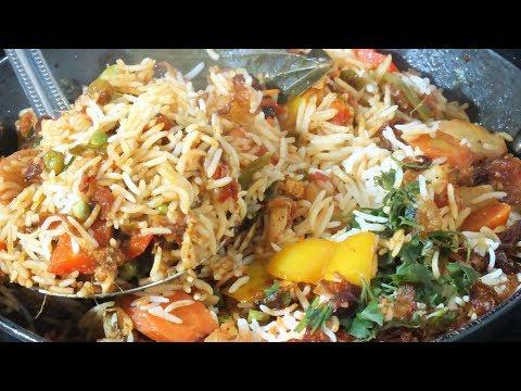 रेस्टोरेंट के सीक्रेट मसाले के साथ बनाये ये बिरयानी स्वाद ऐसा की हमेशा याद रहे // Vegetable Biryani