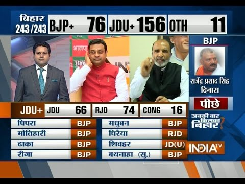 Bihar Election Results: BJP Leader Sambit Patra Reacts to Party's Defeat in Bihar Polls