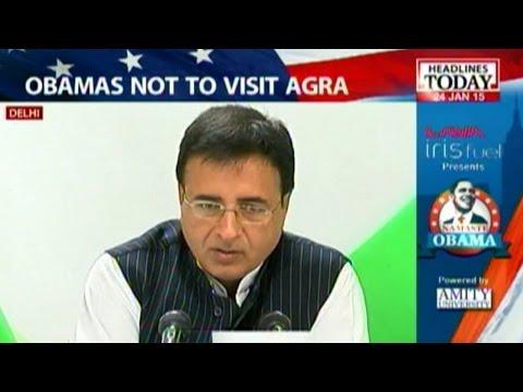 Obama cancels Taj Mahal visit