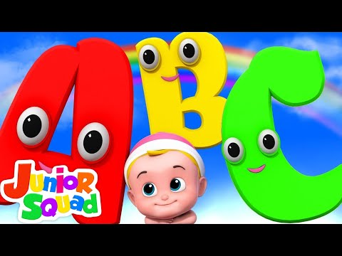 ABC Song | Learn Alphabets | Nursery Rhymes Songs For Kids | Children Rhyme By Junior Squad