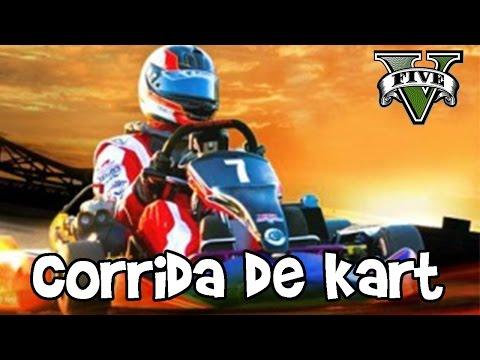 Corrida de Kart  GTA V  C/ ( Kazzio, Pig e Ziero)