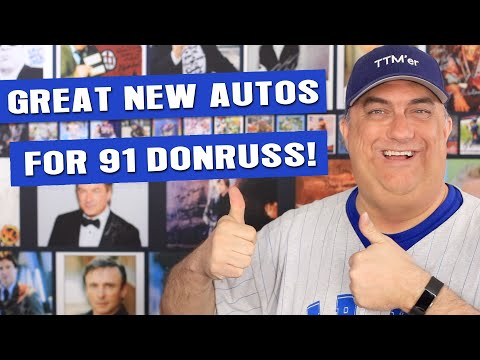 1991 Donruss Autograph Set Updates - 5X All Star