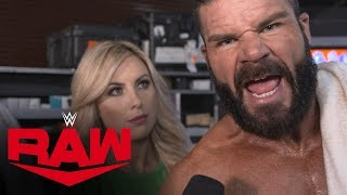 Dolph Ziggler admits he failed his partner: Raw Exclusive, Oct. 14, 2019