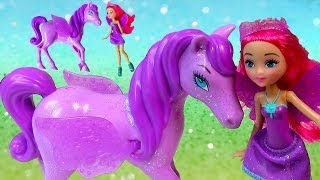 Barbie Mariposa and The Fairy Princess Sprite Doll Pegasus Pony Toy Review