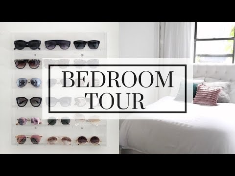 NYC BEDROOM TOUR - Small Bedroom Storage & Decorating Ideas