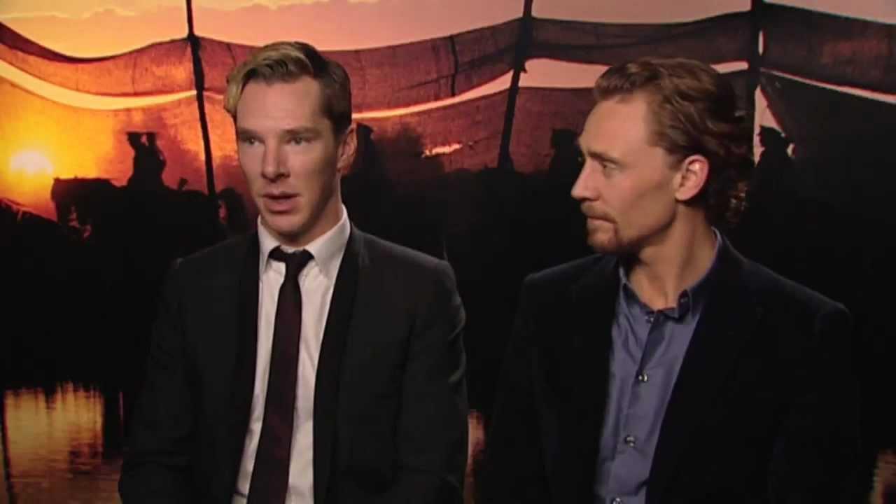 Tom Hiddleston And Benedict Cumberbatch Interview -- War ... Benedict Cumberbatch Tv
