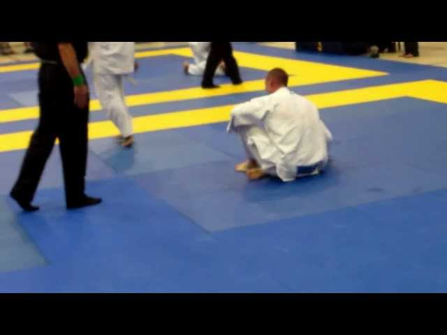 Christian Broadnax's flying armbar at the 2012 Toronto Open