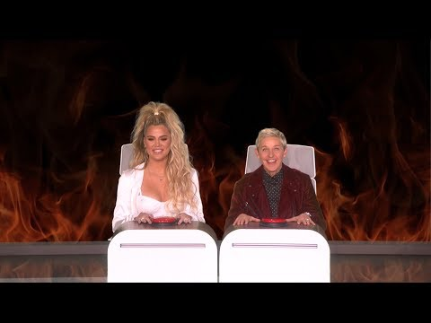 Khloe Kardashian Answers Ellen's Burning Questions