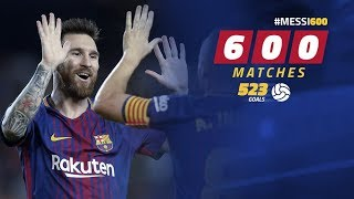 [BEHIND THE SCENES] Leo Messi reaches 600 games with Barça
