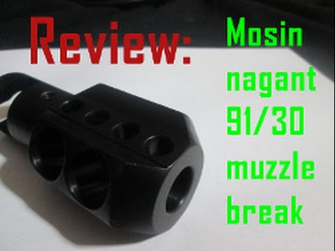 Texas Precision Products-Mosin Nagant 91-30 Muzzle Brake review- un-boxing