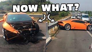 So I Crashed My Lamborghini...