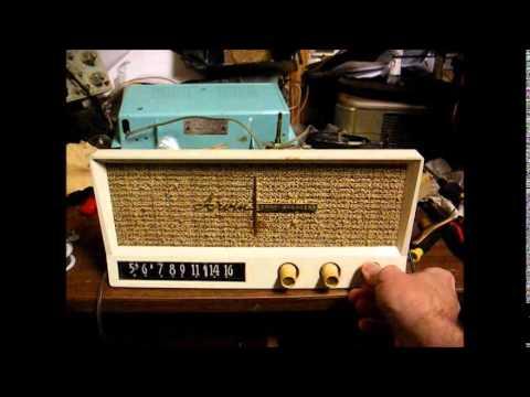 Repair of a 1960 Arvin AM tube radio