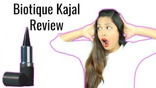 Most Affordable Herbal Kajal – Hit or Miss | Biotique Kaajal Review