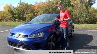 Review: 2016 Volkswagen Golf R