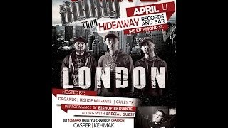 SirReal speaks on KOTD and Corey Charron @ Hideaway Records on April 4th London ON