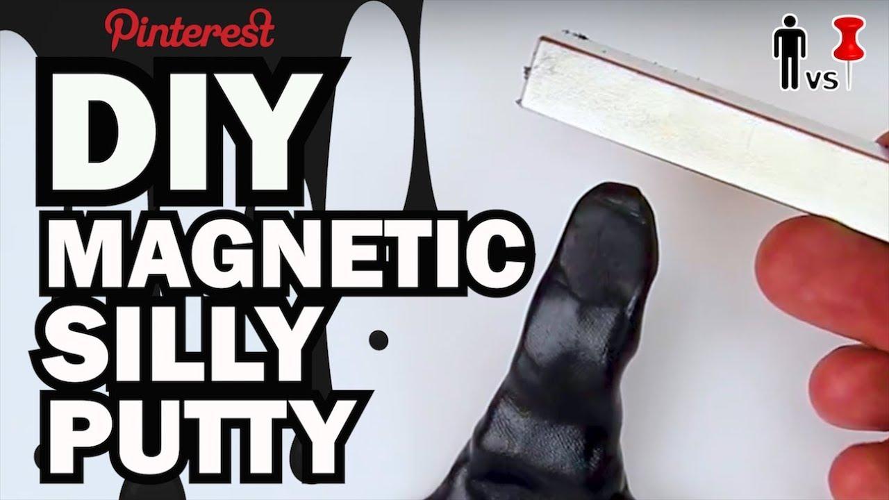 Magnetic Silly Putty Diy Diy Magnetic Silly Putty Man