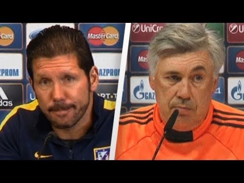 Simeone and Ancelotti preview Real Madrid v Atlético Madrid | UEFA Champions League Final