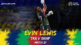 Evin Lewis Lets Loose With 11 SIXES! | CPL 2021