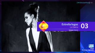 [HD] Eurovision Song Contest 2014: Spain - Top 5