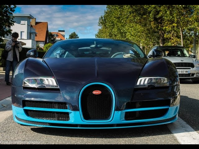 Bugatti Veyron FAIL ! Start-Up with cables !