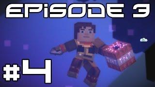 Minecraft Story Mode - Detonating the F Bomb! #4 (Chapter 3)
