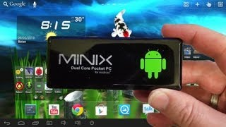 Minix Neo G4 Android Mini PC. Hands On Review Plus XBMC Working on 1080p