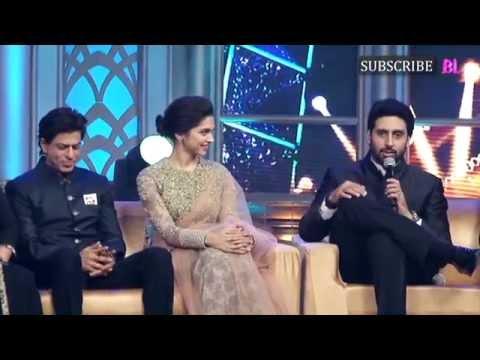 Abhishek Bachchan pulls a prank on Happy New Year director Farah Khan