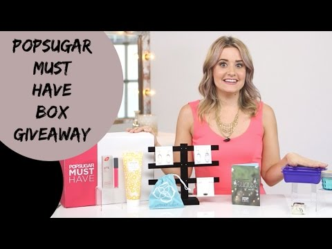 GIVEAWAY - Win a POPSUGAR Must Have Box Subscription!