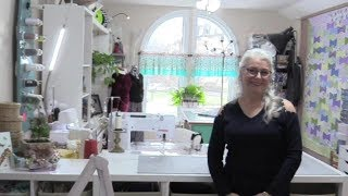 Sewing Room Tour of Sewveryeasy