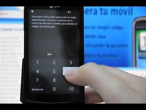 Liberar LG E900 Optimus 7. desbloquear LG E900 de Movistar  - Movical.Net