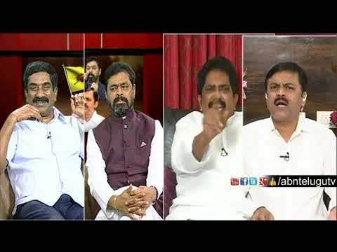 War Of Words Between Sabbam Hari & GVL | Big Debate | RK Punch Dialogues | ABN Telugu
