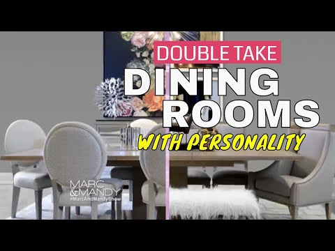 Double Take: Dining Rooms with Personality