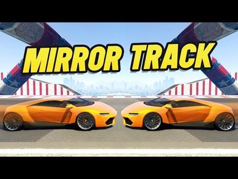 THE MIRROR RACE?! (GTA 5 Versus)