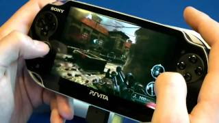 PS Vita - Resistance Gameplay