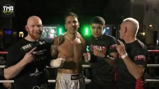 Commentary by Malcolm Martin TMA Fight Series Lee Whitfield England V Viktor Gricjus Latvia