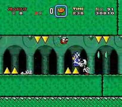 Custom SMW Level: Fort Chloro-Phile