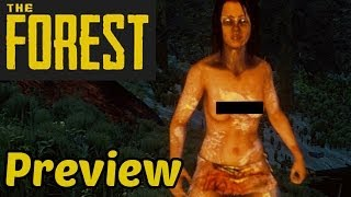 Let's Play The Forest Deutsch German Gameplay Preview