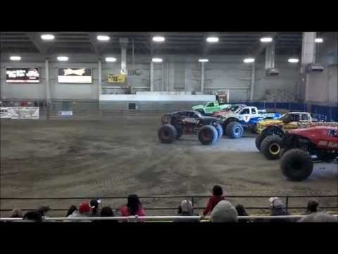 Monster Truck Winter Nationals, Pasco Wa 3/9/2013