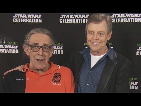 Peter Mayhew & Mark Hamill Talk New Cast Members At Star Wars Celebration