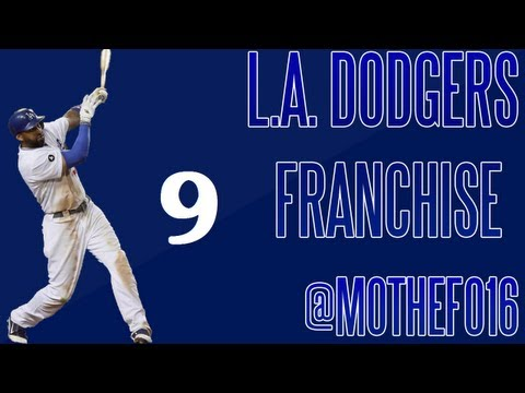 MLB 13 The Show | LA Dodgers Franchise Ep. 9: Yasiel Puig's Debut!