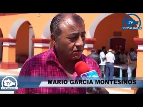 OAXACA NS TV MARIO GARCIA MONTESINOS HACE ENTREGA DE EXPEDIENTE TECNICO EN SAN JUAN YUCUITA