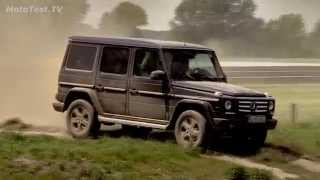 Mercedes G - test off-road polygon