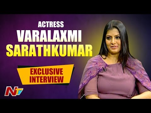 Varalaxmi Sarathkumar Exclusive Interview | Weekend Guest | NTV