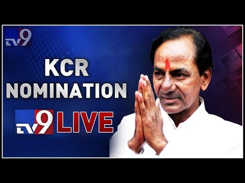 KCR to file nomination from Gajwel LIVE - TV9